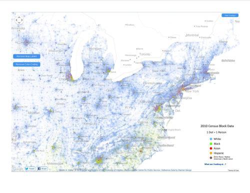 Racial Dot Mapb