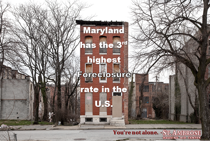 Based on MD DHCD 2014 4th quarter Foreclosure report