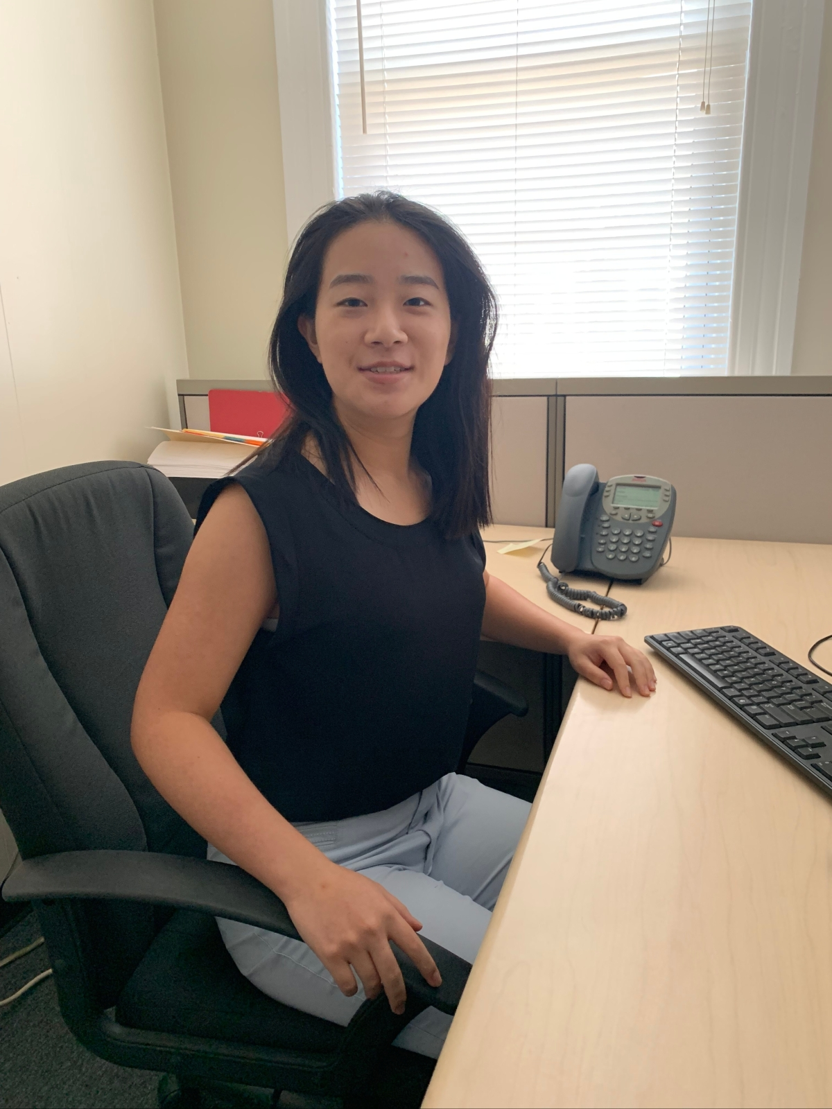 Angela Zhu- HUBS Intern (Housing Upgrades to Benefit Seniors)